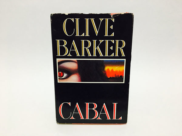 Cabal by Clive Barker 1988 Hardcover