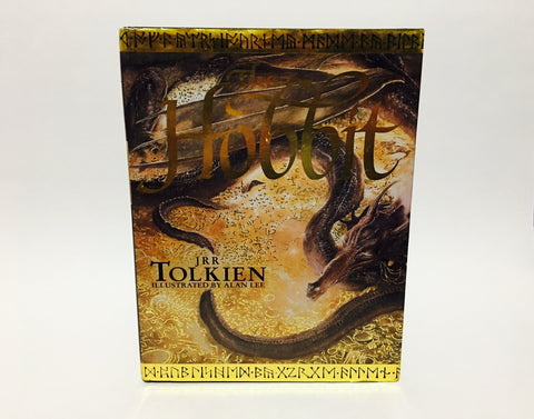 The Hobbit by J.R.R. Tolkien 1997 Hardcover Illustrated by Alan Lee