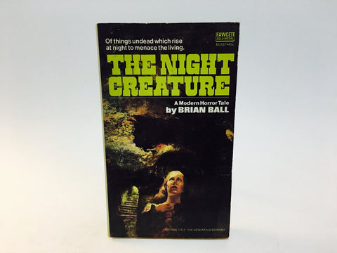 The Night Creature by Brian Ball 1974 Paperback