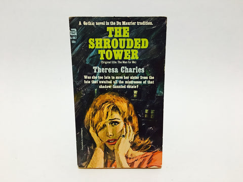 The Shrouded Tower by Theresa Charles 1965 Paperback