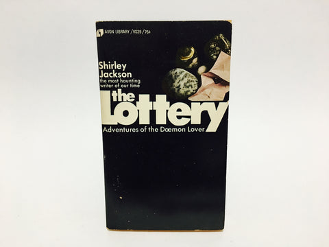 The Lottery by Shirley Jackson 1972 Paperback Anthology