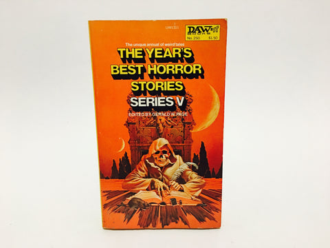 The Year's Best Horror Stories Series V 1977 Paperback Anthology