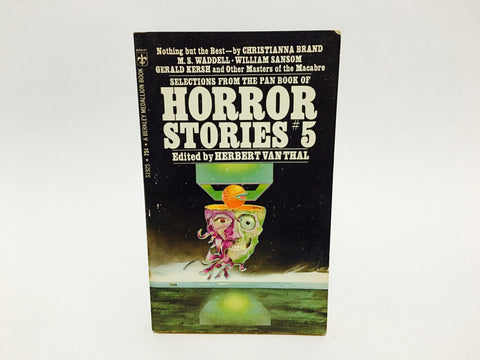 Selections from the Pan Book of Horror Stories #5 1965 Paperback Anthology Series