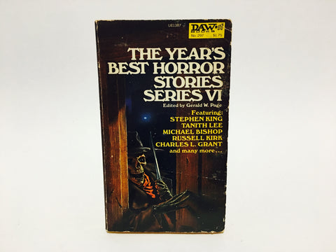 The Year's Best Horror Stories Series VI 1978 Paperback Anthology