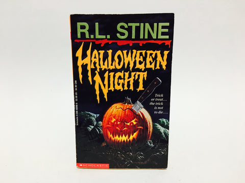 Halloween Night by R.L. Stine 1993 Paperback