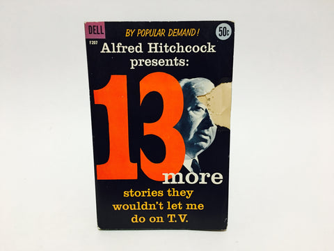 Alfred Hitchcock Presents: 13 More Stories... 1959 Paperback Anthology