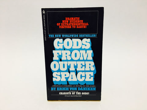 Gods From Outer Space by Erich von Daniken 1972 Paperback