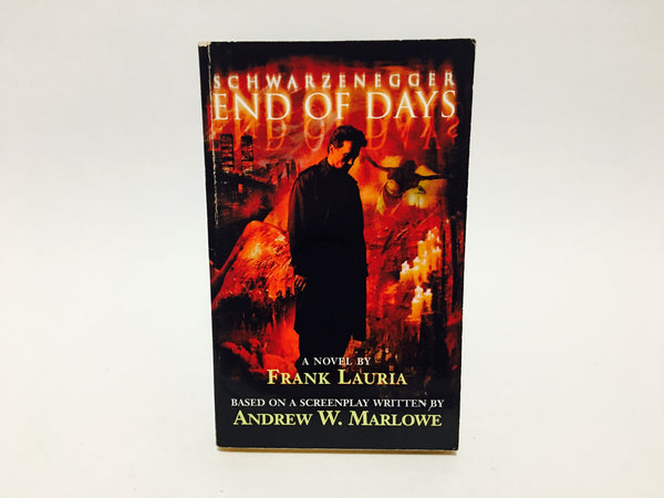 End of Days Film Novelization 1999 Paperback