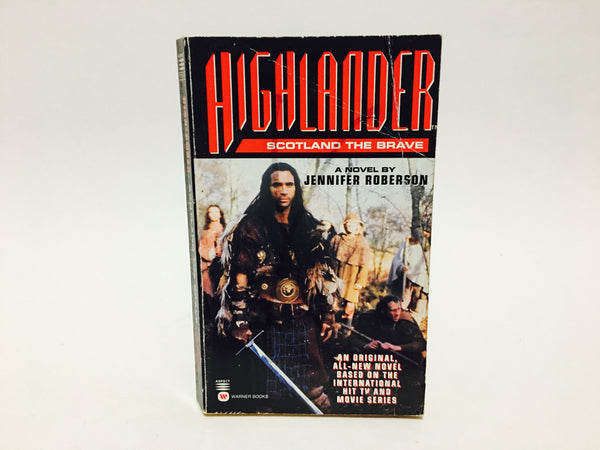 Highlander - Scotland The Brave by Jennifer Roberson 1996 Paperback