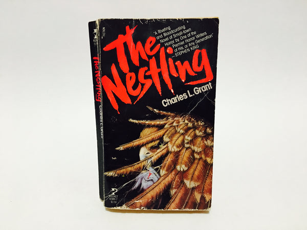 The Nestling by Charles L. Grant 1982 First Edition Paperback