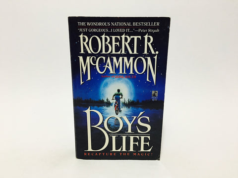 Boy's Life by Robert McCammon 1990s Paperback