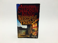 Needful Things by Stephen King 1992 First Edition Paperback