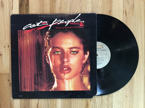 Cat People Original Soundtrack Vinyl LP 1982 Giorgio Moroder / David Bowie