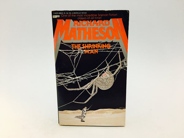 The Incredible Shrinking Man by Richard Matheson 1979 Paperback - LaCreeperie