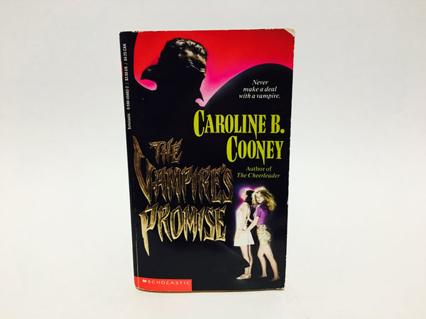 The Vampire's Promise by Caroline B. Cooney 1993 Paperback