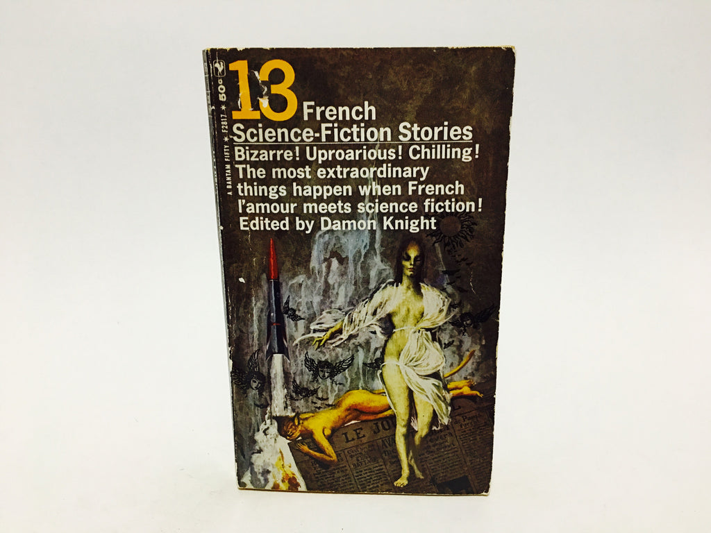 13 French Science Fiction Stories 1965 Paperback Anthology - LaCreeperie