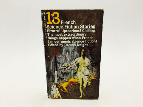 13 French Science Fiction Stories 1965 Paperback Anthology