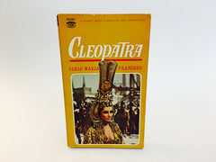 Cleopatra by Carlo Maria Franzero 1963 Movie Tie-In Edition Paperback - LaCreeperie