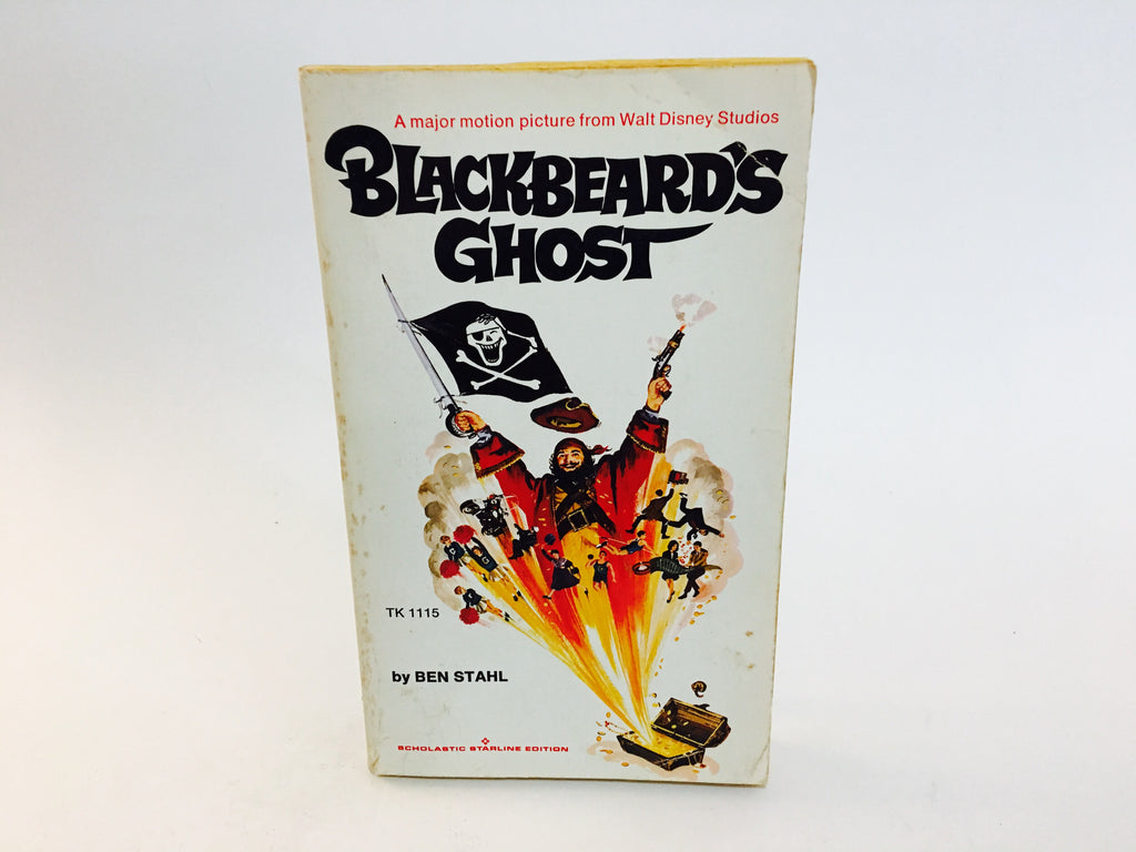Blackbeard's Ghost by Ben Stahl 1976 Movie Tie-In Edition Paperback Disney - LaCreeperie