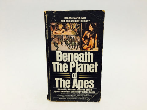 Beneath The Planet of the Apes Film Novelization 1970 Paperback