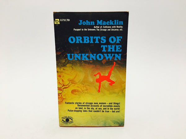 Orbits of the Unknown by John Macklin 1969 Paperback - LaCreeperie