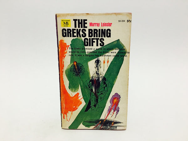 The Greks Bring Gifts by Murray Leinster 1964 Paperback - LaCreeperie