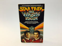 Star Trek: The Wrath of Khan Film Novelization 1982 Paperback - LaCreeperie