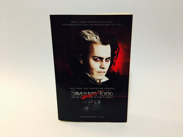 Sweeney Todd Edited by Robert L. Mack 2005 Movie Tie-In Edition Softcover - LaCreeperie