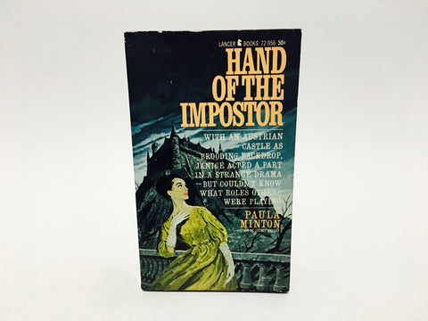 Hand of the Imposter by Paula Minton 1965 Paperback