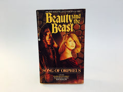 Beauty and the Beast: Song of Orpheus TV Series Novelization 1990 Paperback - LaCreeperie