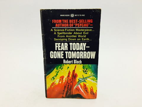 Fear Today - Gone Tomorrow by Robert Bloch 1971 Paperback