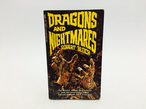 Dragons and Nightmares by Robert Bloch 1969 Paperback Anthology