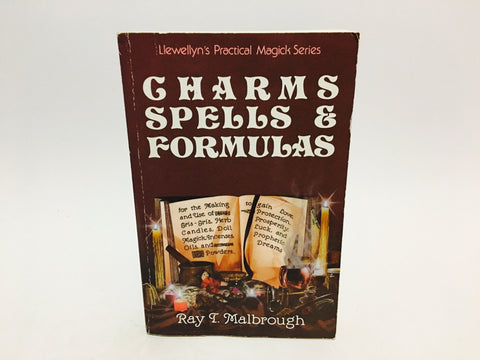 Charms, Spells & Formulas by Ray Malbrough 1997 Softcover
