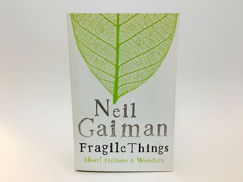 Fragile Things by Neil Gaiman 2006 UK Edition Softcover Anthology