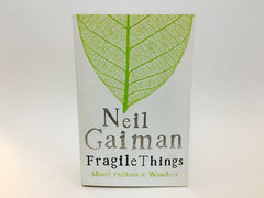 Fragile Things by Neil Gaiman 2006 UK Edition Softcover Anthology - LaCreeperie