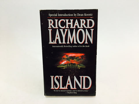 Island by Richard Laymon 2002 Paperback