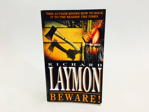 Beware! by Richard Laymon 1994 UK Edition Paperback