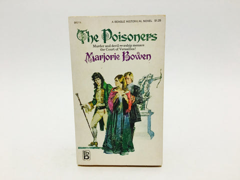 The Poisoners by Marjorie Bowen 1970 Paperback