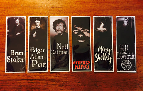Gothic Authors Bookmarks Series 1