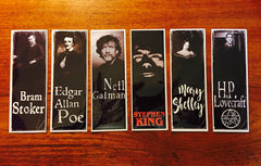 Gothic Authors Bookmarks Series 1 - LaCreeperie