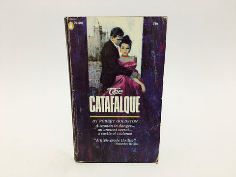 The Catafalque by Robert Goldston 1958 Paperback