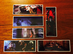 Horror Movie Bookmarks Series 1 - LaCreeperie