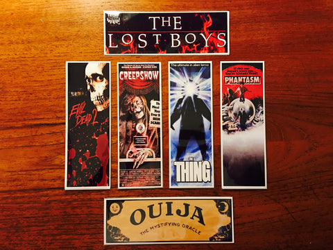 Horror Movie Bookmarks Series 2