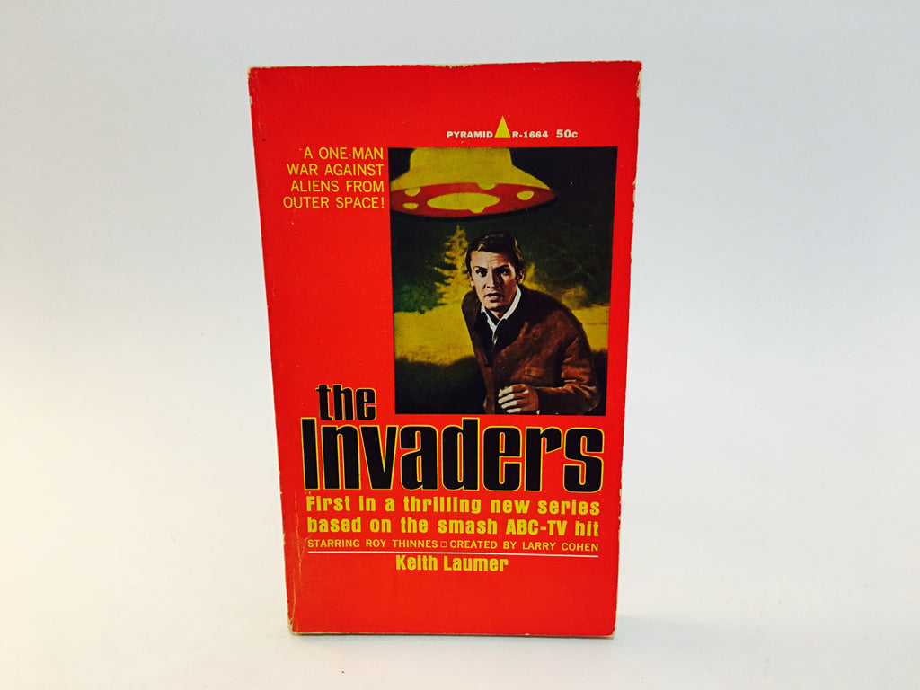 The Invaders TV Novelization 1967 Paperback - LaCreeperie
