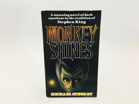 Monkey Shines by Michael Stewart 1984 UK Edition Paperback