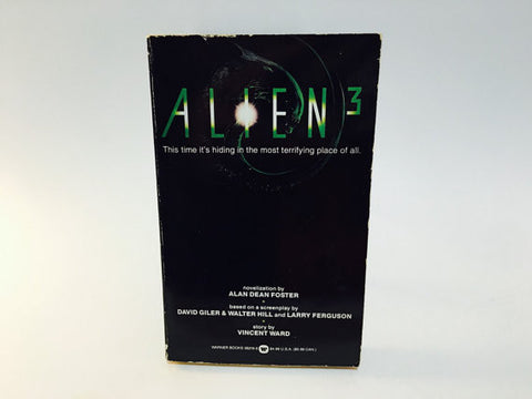 Alien 3 Film Novelization 1992 Paperback