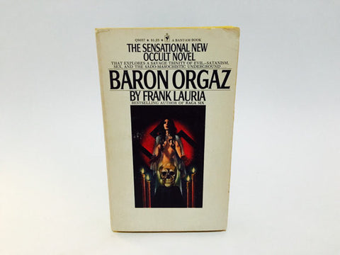 Baron Orgaz by Frank Lauria 1974 Paperback