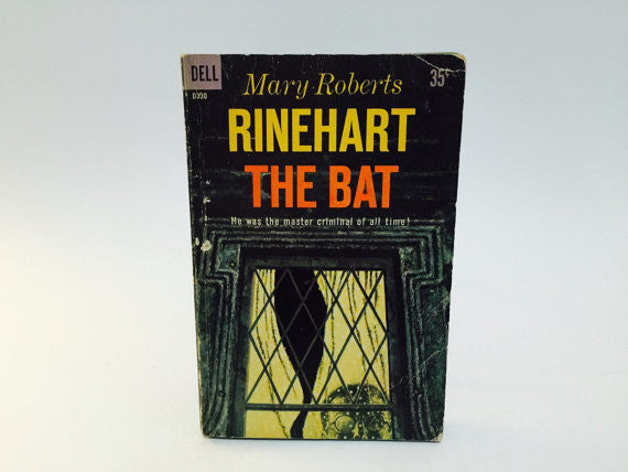 The Bat by Mary Roberts Rinehart 1959 Paperback - LaCreeperie