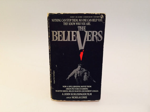 The Believers by Nicholas Conde Movie Tie-In Edition 1987 Paperback - LaCreeperie