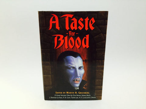 A Taste for Blood - 15 Vampire Tales 1992 Hardcover Anthology